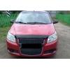 Дефлектор капота для Chevrolet Aveo (5D) HB 2008-2011 (SIM, SCHAVEH0812)