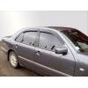 Дефлекторы окон (ветровики) для Mercedes-Benz E-Class (W210) 1995-2001 (SIM, SMERE9532)