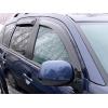 Дефлекторы окон (ветровики) для Mitsubishi Outlander XL/ Citroen C-Сrosser/ Peugeot 4007 2007-2014 (SIM, SMIOUT0732)