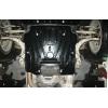 Защита коробки для Audi A5 2008-2012 (1,8TSi; 2,0 TFSi Quattro АКПП) (POLIGONAVTO, St)
