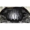 Защита картера двигателя для Audi A5 2012+ (2,0 TFSi Quattro АКПП) (POLIGONAVTO, E)