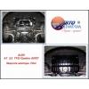 Защита картера двигателя для Audi A7 2010+ (3,0 TFSi Quattro АКПП) (POLIGONAVTO, St)