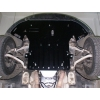 Защита картера двигателя для Audi A8 1994-2003 (3.7/4.2 алюм. подрамник) (POLIGONAVTO, *#)