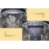 Защита картера двигателя для BMW E38 1994-2001 (728/730/740/730D 2,8; 4,0; 3,0D;4.4) (POLIGONAVTO, E)