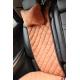 Автоподушка (бежевая, 1 шт.) (AVTOРИТЕТ, pillow-headrest-BROWN)