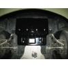 Защита картера двигателя для BMW F01 2009+ (740D 3.0 D АКПП) (POLIGONAVTO, St)