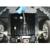 Защита картера двигателя для Chevrolet Malibu 2012+ (2,4 АКПП) (POLIGONAVTO, St)