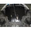 Защита картера двигателя для Ford B-MAX 2013+ (1.0;1.4;1.4D) (POLIGONAVTO, E)