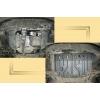 Защита картера двигателя для Jeep Patriot 2006-2011 (2,4) (POLIGONAVTO, St)