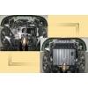 Защита картера двигателя для Geely CK 2007+ (1,3; 1,5) (POLIGONAVTO, St)