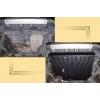 Защита картера двигателя для Honda Element 2003-2008 (2,4) (POLIGONAVTO, St)