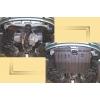 Защита картера двигателя для Hyundai Matrix 2001-2010 (1,6) (POLIGONAVTO, St)