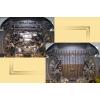 Защита картера двигателя для Infiniti FX 45 2003+ (4,5) (POLIGONAVTO, D)