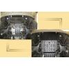 Защита картера двигателя для Infiniti QX 56 2007+ (5,6) (POLIGONAVTO, A)