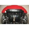 Защита картера двигателя для Lancia Ypsilon 2012+ (1,2 АКПП) (POLIGONAVTO, St)