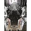 Защита коробки для Lexus IS 350 C 2009+ ((купе) 3,5 зад.привод) (POLIGONAVTO, St)