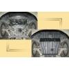 Защита картера двигателя для Lexus GS 350 2012+ (3.5 4X4) (POLIGONAVTO, A)