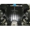 Защита картера двигателя для Honda Civic 2012+ (1,8 МКПП 4D седан) (POLIGONAVTO, St)