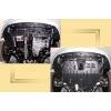 Защита картера двигателя для Nissan Almera Classic 2006+ (1,6) (POLIGONAVTO, St)