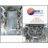 Защита картера двигателя для Lexus GX-460 2010+ (POLIGONAVTO, A)