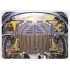 Защита картера двигателя для Opel Omega B 1994-2004 (2,0;2,2;2,5TD/2,5V6) (POLIGONAVTO, St)