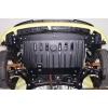 Защита картера двигателя для Peugeot 107 2006+ (POLIGONAVTO, St)