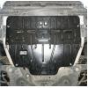 Защита картера двигателя для Peugeot 508 2012+ (1,6; 2,0) (POLIGONAVTO, St)