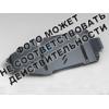 Защита дифференциала для Peugeot 4007 2008+ (2,4 АКПП/МКПП) (POLIGONAVTO, St)