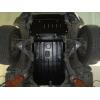 Защита картера двигателя для Toyota FJ Cruiser 2006+ (4,0) (POLIGONAVTO, A)