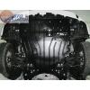 Защита картера двигателя для Toyota Prius 2012+ (1,8 АКПП/ МКПП) (POLIGONAVTO, St)