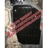 Защита топливного бака для Fiat 500L 2013+ (1,3 AКПП) (POLIGONAVTO, St)
