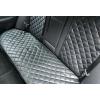 Накидки из экокожи на сиденья автомобиля (задние, к-кт. 3 шт.) (AVTOРИТЕТ, ekokoga3)