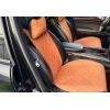 Накидки на сиденья автомобиля с ушками (передние, к-кт. 2 шт.) (AVTOРИТЕТ, brown_s)
