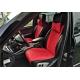 Накидки на сиденья автомобиля с ушками (передние, к-кт. 2 шт.) (AVTOРИТЕТ, red_s)