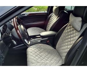 Накидки на сиденья автомобиля с ушками (передние, к-кт. 2 шт.) (AVTOРИТЕТ, grey_s)