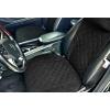 Накидки на сиденья автомобиля с ушками (передние, к-кт. 2 шт.) (AVTOРИТЕТ, black_s)