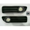 Комплект штатных противотуманных фар (LED) для Audi A4 1996-1999 (Gplast, GPVL164)