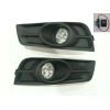 Комплект штатных противотуманных фар (LED) для Chevrolet Cruze 2009+ (Gplast, GPVL08)