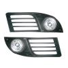 Комплект штатных противотуманных фар для Fiat Doblo 2006-2010 (Gplast, GPT02)