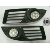Комплект штатных противотуманных фар (LED) для Fiat Doblo 2006-2010 (Gplast, GPTL02)