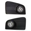 Комплект штатных противотуманных фар для Volkswagen Crafter 2007+ (Gplast, GPV131)