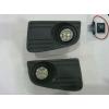 Комплект штатных противотуманных фар (LED) для Volkswagen Crafter 2007+ (Gplast, GPVL131)