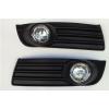 Комплект штатных противотуманных фар для Volkswagen Jetta 2006-2011 (Gplast, GPV167)