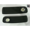 Комплект штатных противотуманных фар (LED) для Volkswagen Passat (B5) 1997-2000 (Gplast, GPVL156)