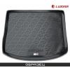 Коврик в багажник (полиуретан) для Renault Captur 2014+ (LLocker, 106140101)