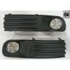 Комплект штатных противотуманных фар (LED) для Volkswagen T5 2004-2009 (Gplast, GPVL139)