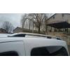 Алюминиевые рейлинги на крышу (чугунные ножки) для Ford Tourneo Custom 2013+ (Erkul, FC13RRL.04)
