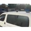 Алюминиевые рейлинги на крышу (чугунные ножки) для Ford Tourneo Custom 2013+ (Erkul, FC13RRL.05)