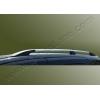 Алюминиевые рейлинги на крышу (чугунные ножки) для ВАЗ Largus 2006-2013 (Erkul, LL06RRL.04)