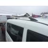 Алюминиевые рейлинги на крышу (чугунные ножки) для Peugeot Bipper 2008+ (Erkul, PBRRL.04)